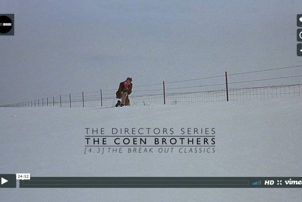 Directors Series - The Coen Brothers Break Out Classics