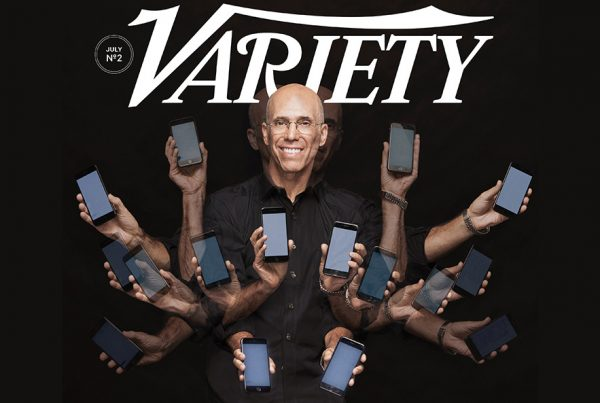 Jeffrey Katzenberg's Plan to Revolutionize Entertainment on Mobile Screens