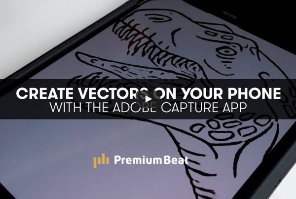 Use a Phone App to Create Vectors for After Effects