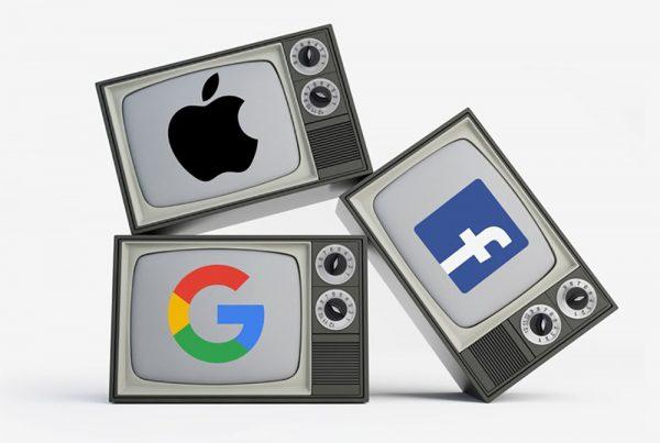 Facebook, Apple, and Google Will Hasten the Next Era of TV